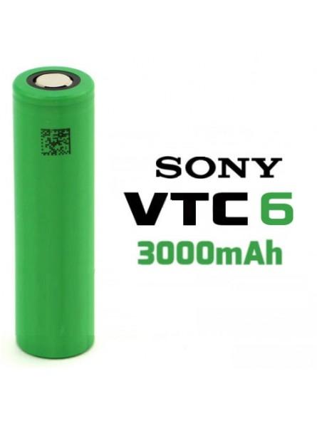 Batteria Sony 18650 VTC6 3000mAh 30A Flat Top